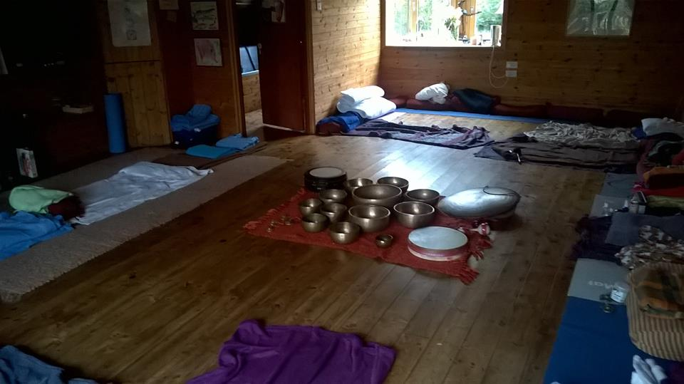 Sli Na Bande Sound Bath Set Up John Reilly